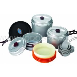 Набор посуды с горелкой Kovea VKK-SY78 Silver 78