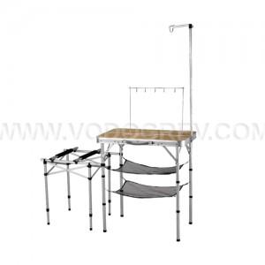 Складная кемпинговая кухня KJ8FN0115 2 WAY KITCHEN TABLE M