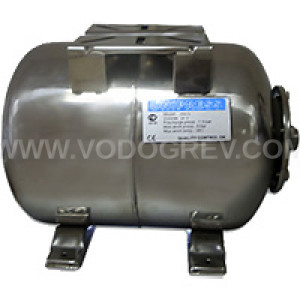 Гидроаккумулятор UNIPRESS горизонтальный 50 л. нержавеющая  сталь