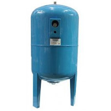 Гидроаккумулятор UNIPRESS вертикальный с манометром 150  л.