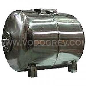 Гидроаккумулятор UNIPRESS горизонтальный 100 л. нержавеющая  сталь