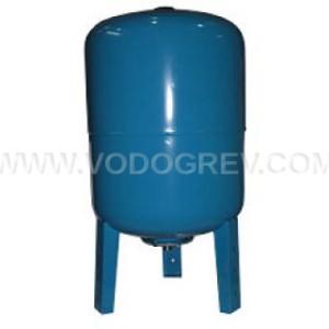 Гидроаккумулятор UNIPRESS  вертикальный 80 л. (фланец нерж.)